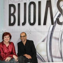 Vera Masi, Diretora da BIJOIAS e o arquiteto Julio Rosa